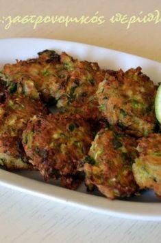 Kουταλίτες με κολοκύθι (κολοκυθοτηγανίτες) - cretangastronomy.gr Meat, Chicken, Food, Essen, Meals, Yemek, Eten, Cubs