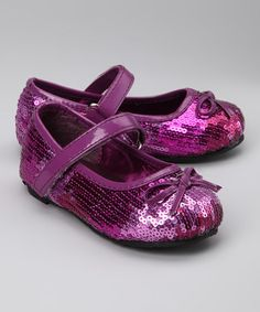 Take a look at this China Doll Grape Hollywood Mary Jane by Sweet Feet: Girls' Footwear on #zulily today!