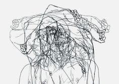 Moisés Mahiques - After-head Study LVIII, 2011
