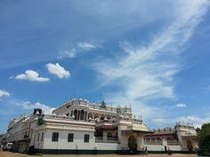 Chettinad Palace, Kanadukathan Village,  Sivaganga District,  Tamil Nadu, India