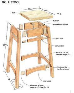 Working on a Shop Stool-stool2.jpg: