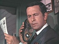 """GET SMART - """"Get Smart"""" satirized the secret agent genre, which was quite popular in the mid-1960s. It ran on the NBC television network from 1965 to 1969, on CBS from 1969 to 1970, and on FOX in 1995, airing a total of 145 episodes. First 30 shows were made in black & white.The series, written and created by Mel Brooks and Buck Henry, won seven Emmy Awards and was nominated for an additional fourteen Emmys and two Golden Globe Awards."""