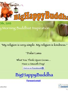 Happy Buddha quote of the day today