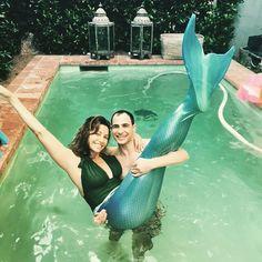 Instagram media by spagettyos - Mermaid gina and zac  april 2015