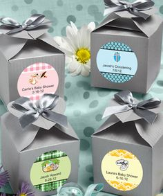 Design Your Own Collection Decorative Boxes - Silver