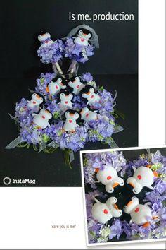 sooo cute....Penguin wedding Pen - gift to guests! ^0^