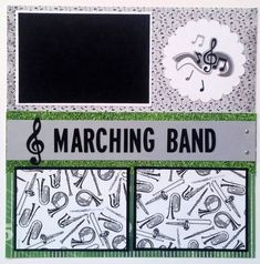 Bring on the band! The marching band at a football game is often a highly anticipated part of the entire game experience. Document your band photos on this great premade scrapbook page! This is a two page premade scrapbook layout. Each page measures 12x12. There are five mats for photos. Two mats will hold 3.5x5 photos and three mats will hold 4x6 photos. Thank you for looking! More school themed layouts can be found here http://etsy.me/1FOXBd2  The Ohioscrapper shop offers over 100 premade…