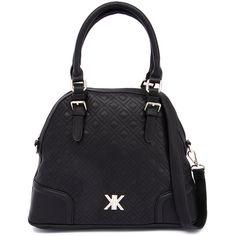 Kardashian Kollection 3513 Black Handbag (5.225 RUB) ❤ liked on Polyvore featuring bags, handbags, quilted handbags, pocket bag, quilted purse, kardashian kollection bags and black handbags