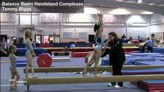 Balance Beam Handstand Complexes