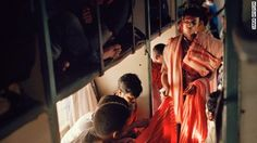 Riding on India's 'intense' trains