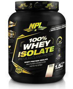 Whey Protein Isolate is the cleanest source of protein with the highest bioavailability among complete proteins.  NPL's 100% WHEY ISOLATE is formulated using a cross-flow micro filtration, multi-step purification process that preserves important muscle-building protein fractions, while removing excess carbohydrates, fat, lactose and cholesterol. This process reduces the size of the protein molecule, making it easier for the body to absorb and faster to digest. Whey Protein Isolate, High Protein, Cross Flow, Protein To Build Muscle, 100 Whey, Complete Protein, Protein Sources, Muscle Building, Fractions