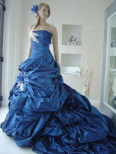 Abiti da sposa blu (Foto 4/23) | Donna Nanopress
