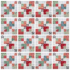 Video tutorial: double disappearing 9 patch block tutorial - This is a very quick and easy block