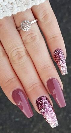 39 Fabulous Ways to Wear Glitter Nails Designs for 2019 Summer! Best 5 of 39 - 39 Fabulous Ways to Wear Glitter Nails Designs for 2019 Summer! Best 5 of 39 39 Fabulous Ways to Wear Glitter Nails Designs for 2019 Summer! Best 5 of 39 Summer Acrylic Nails, Cute Acrylic Nails, Glitter Nails, Summer Nails, Cute Nails, Pretty Nails, Gel Nails, Nail Polish, Coffin Nails