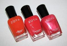 Zoya BELLE, CORALINE, KATE Nail Polish – The Birchbox Blogger Collection
