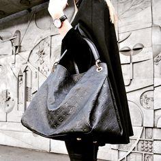 Black Artsy, Louis Vuitton.