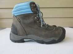 Keen Women Dry 200 Gram Warm Insulation Hiking Boots Sz 8.5 #Keen #AnkleBoots #Casual