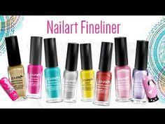 #Nailart Fineliner für Blütenmalerei und Motive von #Jolifin by www.gdn.de http://www.german-dream-nails.com/nailart/one-stroke-malerei/jolifin-nailart-fineliner #nails #nail #naildesign