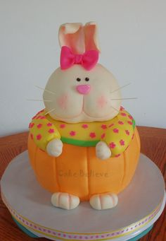 Great bunny cake from cakebelieve.com