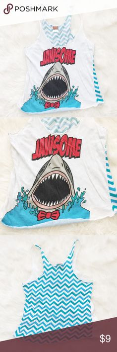 Jawesome Muscle Tank Cute and funny muscle tank perfect to wear while lounging around the house or working out at the gym! Worn a few times. Reasonable offers always accepted. Bundle more to save more ❤️✨ Spencers Tops Tank Tops