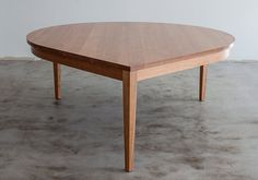 Large Solid Wood Dinning Table  Made to Order by NOOKDESIGN
