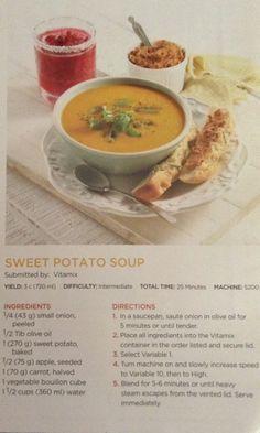 Vitamix sweet potato soup