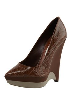 Saturday, October 13th: Stella McCartney Rubber-Wedge Faux Croc Pump, 212 872 8940