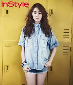 Yoo In Na - InStyle Magazine April Issue '13