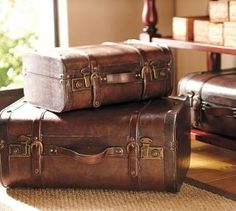 Vintage trunks/Luggage