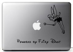 Vinyl Laptop Decal - Powered By Fai.. on Luulla