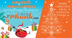 Celebrate the Christmas with Uberphunk.com. Grab your gift and get FREE SHIPPING !!