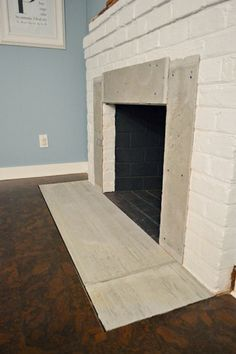 Fireplace Makeover: Sublime Subway | Young House Love   Using Cement Board  To Cover Up