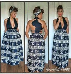 African maxi dress ~African fashion, Ankara, kitenge, African women dresses, African prints, Braids, Nigerian wedding, Ghanaian fashion, African wedding ~DKK