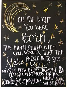 On The Night You Were Born quote print Nancy Tillman by LoftusLane