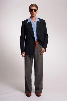 Male Fashion Trends: Michael Kors Spring/Summer 2014: El estilo retro como inspiración
