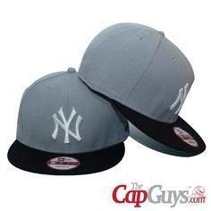 New York Yankees Silver   Black New Era Snapback Cap Buy it now  0b749b61167