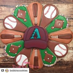 I will have one extra set.perfect for the All-Star game next week or just cuz' you want cookies! Email me!still obsessed with this platter cutter! Crazy Cookies, Iced Cookies, Cut Out Cookies, Cute Cookies, Easter Cookies, Birthday Cookies, Cupcake Cookies, Cookies Et Biscuits, Waffle Cookies
