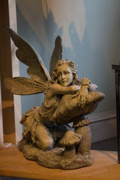 Garden fairy at our Stuyvesant Plaza Shop in Albany, NY.