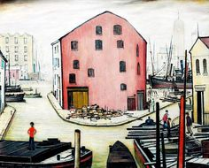 A SCENE in Accrington immortalised by L.S.Lowry is set to fetch around £400,000 at an auction this week.
