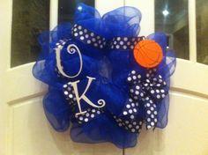 UK wreath... football or basketball!