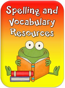 Spelling and Vocabulary Resources in Laura Candler's online file cabinet