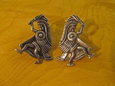 Vintage Taxco Earrings Figural by TaxcoandMore on Etsy