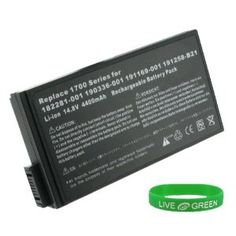 Replacement Laptop Battery for HP Compaq Business Notebook NX5000-DY826PA, 4400mAh 8-Cell. 1 Year Warranty