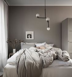 Simple room: ideas for decorating a room with few features - Home Fashion Trend Dream Bedroom, Home Bedroom, Modern Bedroom, Bedroom Rustic, Bedrooms, Home Interior, Interior Design, Blue Bedroom Decor, Italian Home