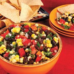 Awesome Black Bean and Corn Salsa @keyingredient