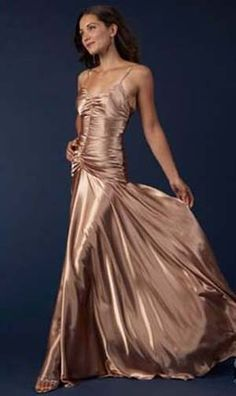 Jessica Mcclintock Rose Gold Gown Comfortable Clothes Gowns Of Elegance