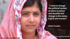 Malala Yousafzai ... hero among heroes!