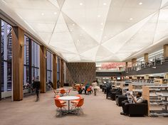 Hunter Douglas Contract at Kitchener Public Library - Canada