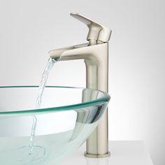 Pagosa Waterfall Single-Hole Bathroom Faucet - Bathroom Sink Faucets - Bathroom
