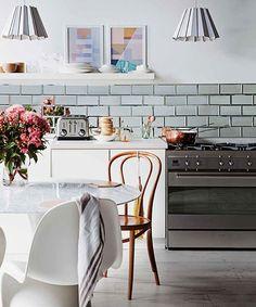#cocina #vintage #diseño de cocinas #linea3cocinas #madrid